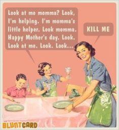 look momma!